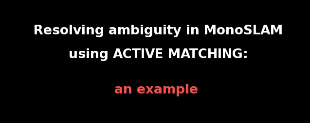 Active Matching video